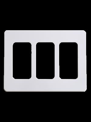 NuBryte SS03 Triple Gang Wall Plate