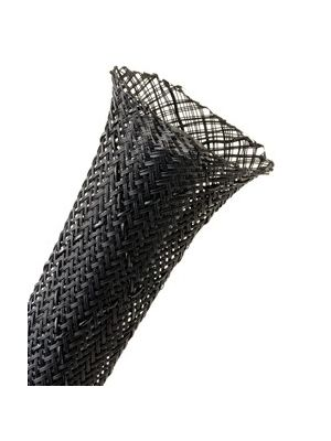TechFlex NSN1.00BLK Flexo Non-Skid Expandable Sleeving, 1