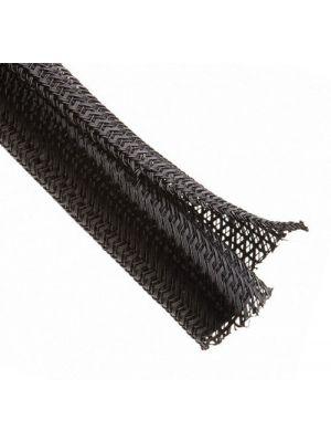 Techflex F6N1.25BK F6-Self-Wrapping Braided Sleeving 1-1/4