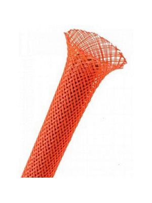 TechFlex PTN0.50NR Flexo PET Expandable Sleeving, 1/2