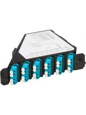 Commscope ADC TFP-24MPLDQ2 24-fiber 12 LC Multimode Left Angle Adapter Cassette