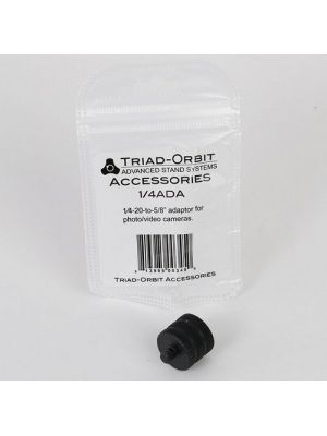 TRIAD-ORBIT 1/4ADA 5/8-Inch Female to 1/4-Inch Male Camera Adapter