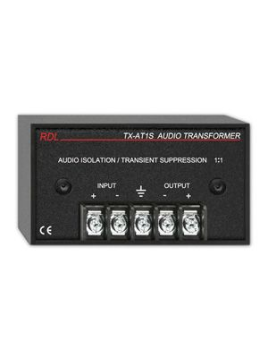 Radio Design Labs TX-AT1S Audio Isolation Transformer with Suppression