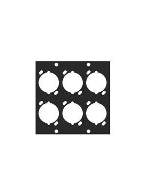 Middle Atlantic UNIV-6 Universal UCP XLR Module