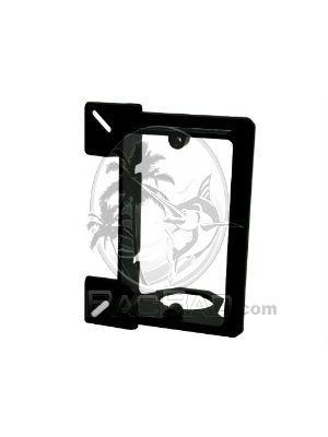 Vanco LVMB1 Low Voltage Mounting Bracket (Single Gang) - Black