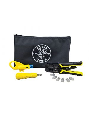 Klein Tools VDV026-212 Twisted Pair Installation Kit w/ Zipper Pouch