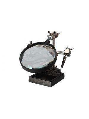 Velleman VTHH4N Helping Hand with Magnifier