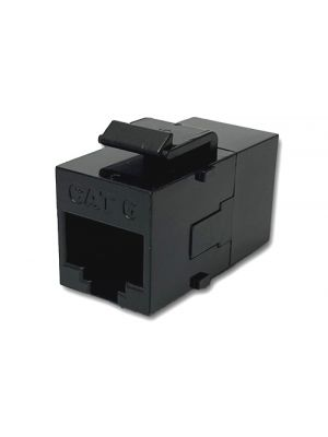 Wavenet 6KSCBK1-S CAT6 UTP RJ-45 Keystone Coupler (Black)