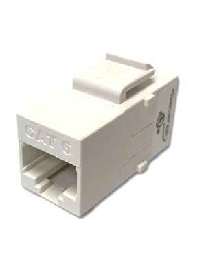 Wavenet 6KSCWH1-S CAT6 UTP RJ-45 Keystone Coupler (White)