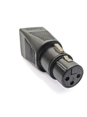 CPOINT XLRJ45-3F RJ45 to 3 Pin Female XLR Adapter