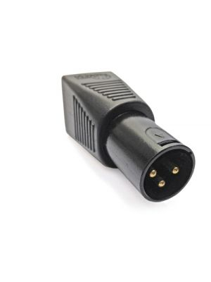 CPOINT XLRJ45-3M RJ45 to 3 Pin Male XLR Adapter