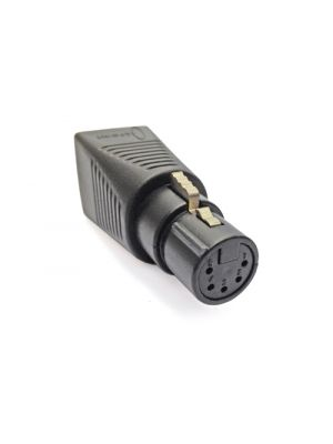 CPOINT XLRJ45-5F RJ45 to 5 Pin Female XLR Adapter