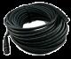NoShorts 1855ABNC100BLK HD-SDI Mini Coax BNC Cable (100 FT - Black)
