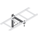 Middle Atlantic CLB-TSB-W24 Triangle Wall Support Bracket (24