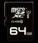 EMTEC SDXC Class10 microSD Memory Card w/Adapter (64GB)