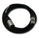 NoShorts Male to Female XLR Cable (2 FT)