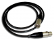 PacPro XLRM/F-5 Male to Female XLR Quad Audio Cable (5 FT)