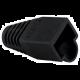 Platinum Tools 100038BK-BG RJ45 Boot - 8.0mm Max OD - Black (25 Pack)