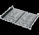 Middle Atlantic UMS1-11.5K UMS Rackshelf w/4 Partial Blank Panels