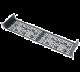 Middle Atlantic UMS1-3.5K UMS Rackshelf w/4 Partial Blank Panels (1RU)
