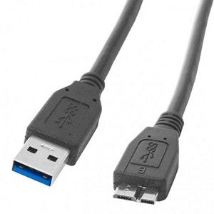 Super Speed USB 3.0 Type A to Type B Cable 3 FT Long