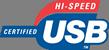 USB Certified Hi-Speed