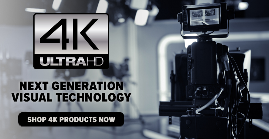 4K UHD Products at Pacific Radio Electronics