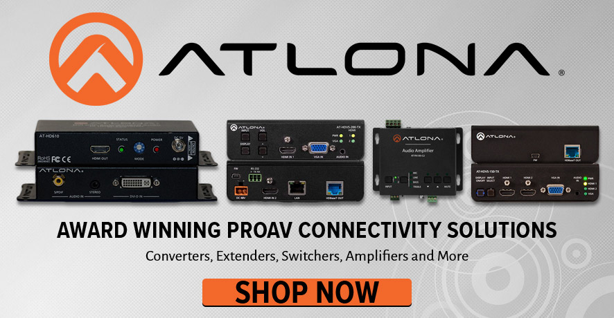 Atlona AV Products at Pacific Radio Electronics