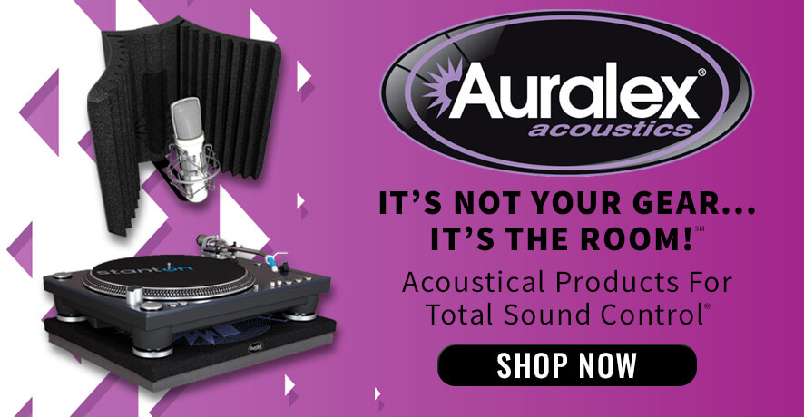Shop Auralex Acoustics Products at Pacific Radio