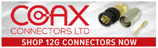 Coax Connectors 12G BNC Products at Pacific Radio Electronics