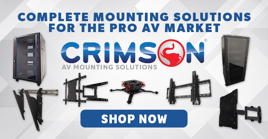 Crimson AV Products at Pacific Radio Electronics
