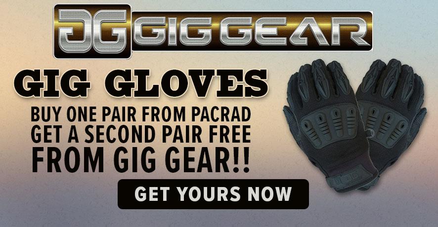 BOGO and Stay Safe with Gig Gloves at PacRad