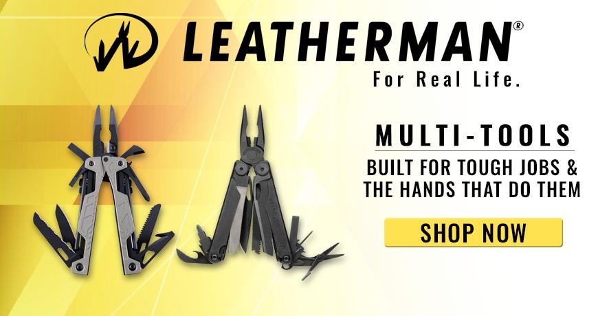 Leatherman Multi-Tools at Pacific Radio