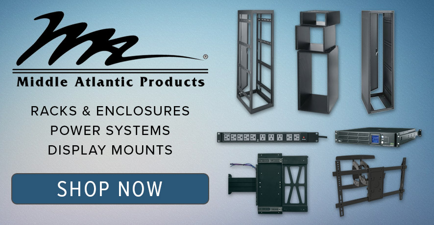Middle Atlantic Products at Pacific Radio Electronics
