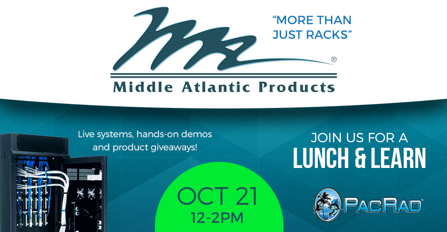 Pacific Radio November Lunch & Learn With Middle Atlantic - RSVP