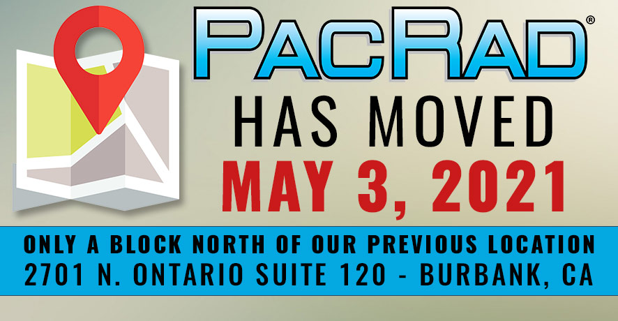 Pacific Radio Electronics has moved May 3 2021