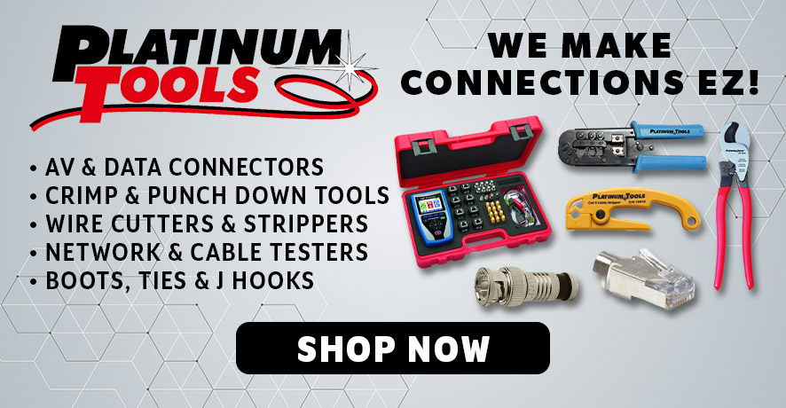 Platinum Tools Products at Pacific Radio Electronics
