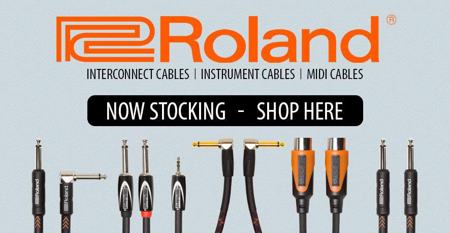 Roland Premium Audio Cables at Pacific Radio Electronics