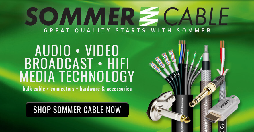 Sommer Cable Products at Pacific Radio Electronics