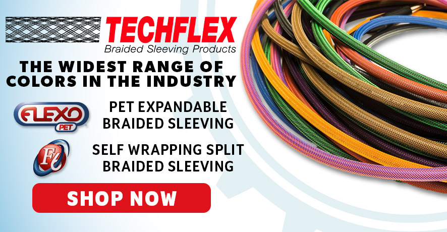 Techflex Products at Pacific Radio Electronics