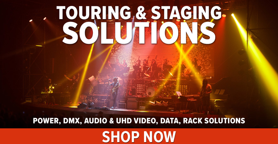 Touring & Staging Products at Pacific Radio Electronics