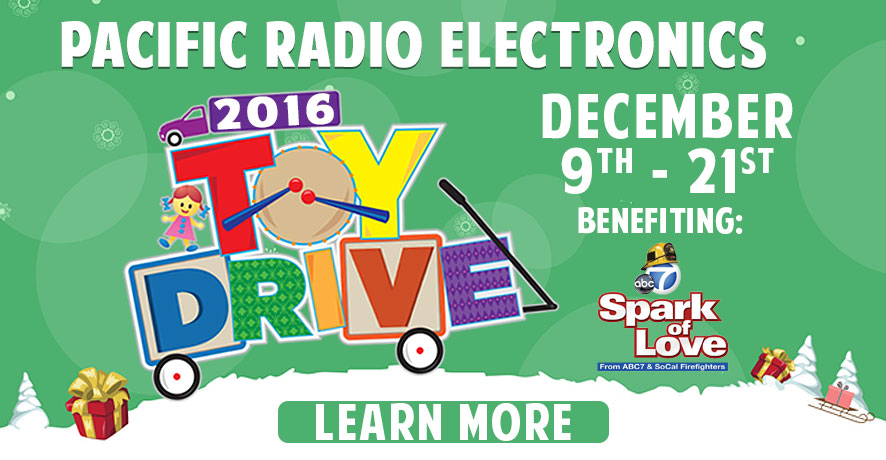 Holiday Toy Drive at Pacific Radio