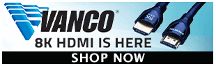Vanco 8K and 4K HDMI, Extenders, Converters, Switches and more at Pacific Radio Electronics