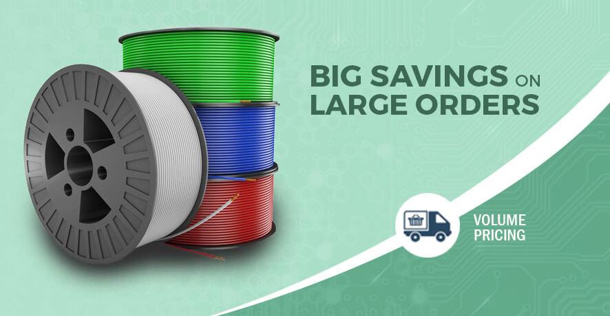 Big Savings on Large Orders