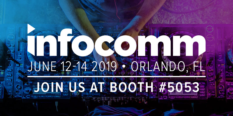 Join Pacific Radio Electronics at InfoComm 2019
