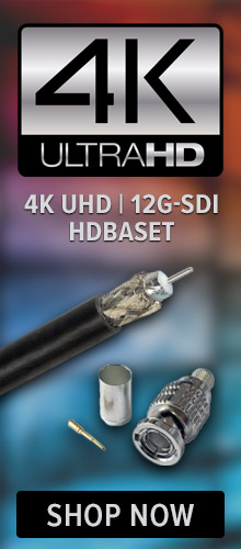 4K UHD, 12G-SDI and HDBaseT Products at PacRad