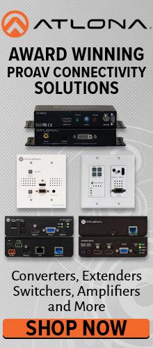 Atlona AV Products at Pacific Radio Electronics