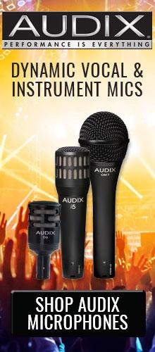 Shop Audix Microphones at Pacific Radio Electronics