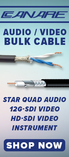 Canare Bulk Cable Products at PacRad