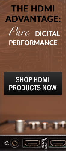 HDMI Products at Pacific Radio Electronics